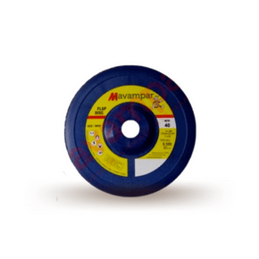 flap disco 7 gr 40 fibra mavampar 5pcs