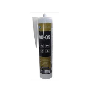 pu55 preto parabrisa tubo 400g poliplas