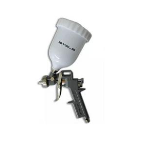 pistola pintura 1 2 a 1 8 gravidade 600ml